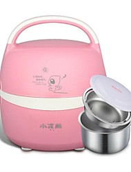 220V Electric Stainless Steel Vacuum  Plugged Rice Cooker Heating Lunch Box