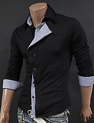 Fulin Men's Casual Long Sleeve Shirt