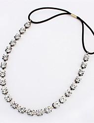 Fashion Gun Black Crystal Hair Accessories Hairband for Women