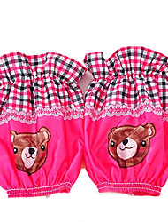 Wholesale Child Cuff Teddy Bear Cotton Short Sleeve Random Colour
