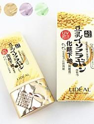 Lideal @ soja 3in1 crème cc réparation de la peau nue maquillage blanchissant hydratant / amorce / soleil scream 4 couleurs