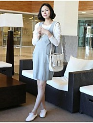 Maternity's Fashion Leisure Two Piece Suit Render Garments And Pregnant Woman Dress