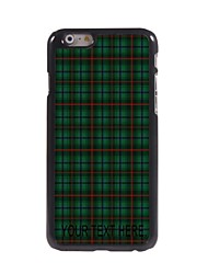 Personalized Case Lattice Style Metal Case for iPhone 6 Plus