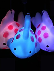 Coway Mobile Phone Pendant Colorful Fish LED Nightlight