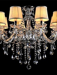 Crystal/Mini Style Chandeliers , Modern/Contemporary/Country/Globe/Traditional/Classic/Drum/Island Glass