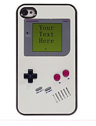 Personalized Gift Game Console Design Metal Case for iPhone 4/4S