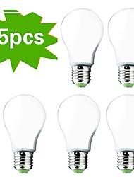 5 pezzi E26 / E27 12W 30 SMD 5730 1000 lm freddo G60 bianco del globo LED lampadine AC 220-240 V
