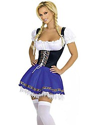 Women's Sexy Maid Role Play Evening Show Halloween Costume