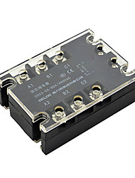 Three-phase SSR Solid State Relay DC DC-AC 80A Control of AC DA Contactless Relay DELIXI ELECTRIC CDG3-DA80A