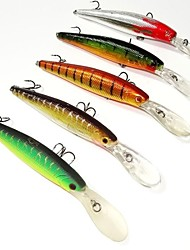 9 см 12,5 г гольян приманки Шад рэп приостановления рыболовные приманки (5шт / ассорти цвет)