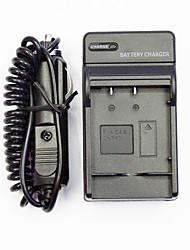 caricabatterie macchina fotografica con un caricabatteria da auto per casio cnp60 (100-240v)