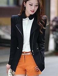 YIBEIER® Women's Zipper Casual Blazer