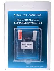 vidrio óptico profesional Protector de pantalla especial para el canon 550d cámara réflex digital