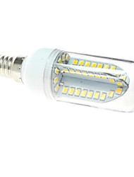 Lampadine a pannocchia 84 SMD 2835 T E14 6 W 500 LM 3000K K Bianco caldo AC 85-265 V