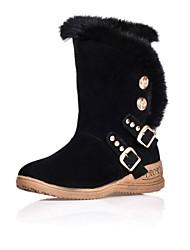 botines zapatos de nieve cuña de las mujeres más colores disponibles