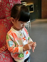 Girl's Fashion And Leisure Watermelon Baseball Jacket