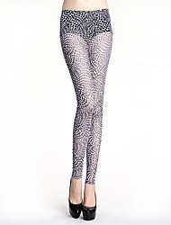 Women Print Legging , Polyester Medium