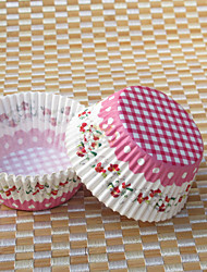 dentelle fleur floral Cupcake Wrappers-ensemble de 50