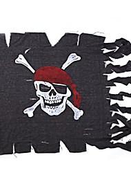 partie d'horreur pirates noirs accessoire drapeau hallween