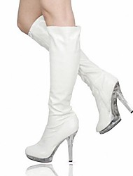 Women's Shoes Platform Stiletto Heel Knee High Boots