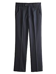 Men's Wrinkle-Free Plain Front Utility Pants
