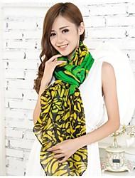 femmes foulards vert clair en voile de fil bali écharpe châles