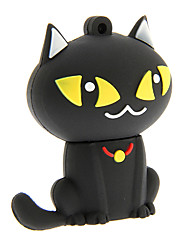 zp55 bande dessinée de chat noir 32gb usb 2.0 flash