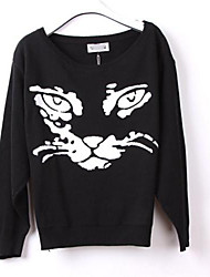 Women's Loose Pullovers  Joker Magazine Model Sweater