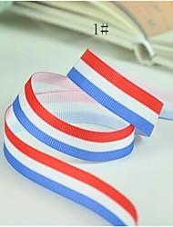 3/8 polegadas fita-5 impressão em fita padrão de impressão fita stripe estilo escocês costela costela quintal cada saco