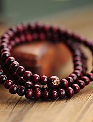 suofeiya de style chinois perles de bois de santal rouge bracelet_s7 couleur de l'écran