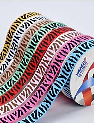 3/8 Inch African Grassland Custom Zebra Pattern Rib Ribbon Printing Ribbon- 25 Yards Per Roll (More Colors)