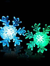 Coway Acrylic Christmas Light Snow LED Nightlight