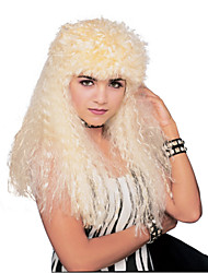 Soft Waves Long Golden 60cm Women's Halloween Party Wig