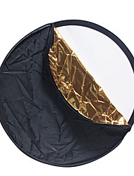 YE 80cm 5-in-1 Collapsible Photograhpic Reflector Panel