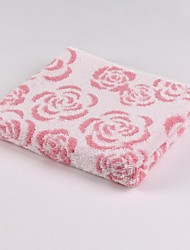 Thouse®Rose Jacquard Wash Towel  100% Cottonl   34cm*75cm