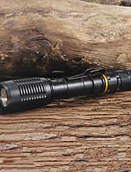 2000LM Trustfire Cree XM-L T6 LED Flashlight Torch(2x18650 Batteries+Charger)