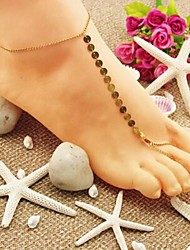 Women's Simple Small Sequins Mittens Anklets