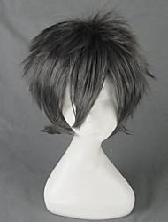 Uta no Prince-sama Nagisa Kaoru Short Black Gray Cosplay Wig