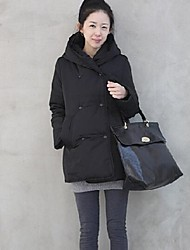 Women's Double-Breasted Coat Outerwear