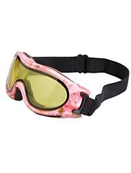 obaolay neve googgles anti-fog anti-uv rose frame sensore giallo lente a specchio