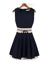 Women's Dresses , Chiffon Casual MEISHA