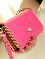 Women's Korean Multifunction Large-screen Phone PU Wallet