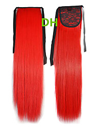 Hot Selling Peny Clips del color del pelo de la cola de colores Red Bar extensión del pelo al por mayor del pelo Piezas