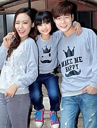 moda longo hoodies manga da família