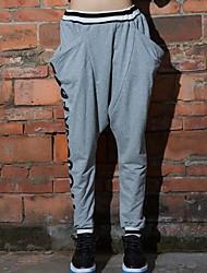 Women's Black/Gray Active/Harem Pants , Casual/Print