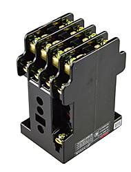 relais auxiliaire ac 4no de bobine 380v 0.95a. 4NC. 4 pôles contacter typeminiature intermédiaire relais Delixi jz7-44 électrique