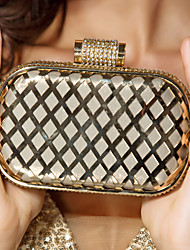 Metal And Leatherette Wedding/Special Occasion Clutches/Evening Handbags(More Colors)