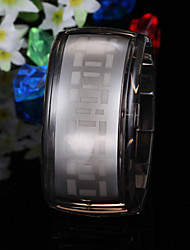 Men's Watch Digital Blue LED Digital Plastic Band Wrist Watch Cool Watch Unique Watch Fashion Watch