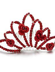 Women's/Flower Girl's Alloy/Cubic Zirconia Headpiece - Wedding/Special Occasion/Outdoor Tiaras/Hair Combs