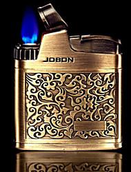 accendini Jobon retrò oro anaglifo metallo e argento giocattoli